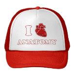 i love anatomy hats