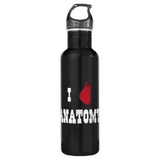 I Love Anatomy Water Bottle