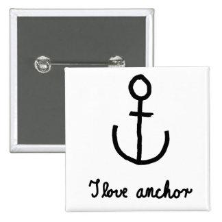 I love anchor - button