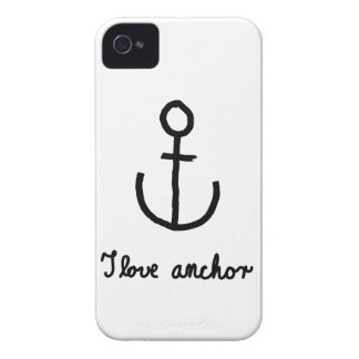 I love anchor - Case iPhone 4 Case-Mate Cases