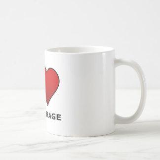 I LOVE ANCHORAGE,AK - ALASKA COFFEE MUG
