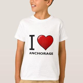 I LOVE ANCHORAGE,AK - ALASKA T-Shirt