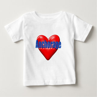 I Love Anchorage Alaska Baby T-Shirt