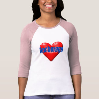 I Love Anchorage Alaska T-Shirt