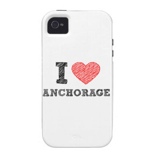 I Love Anchorage Vibe iPhone 4 Case