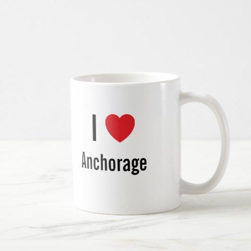 I love Anchorage Classic White Coffee Mug