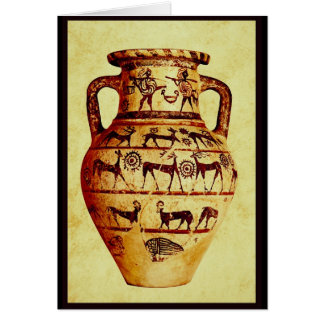 I love Ancient Pottery Greeting Cards