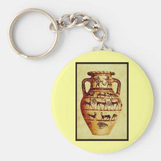 I love Ancient Pottery Keychain