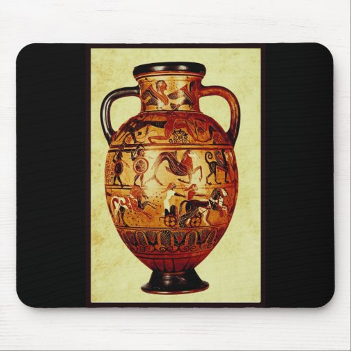 I love Ancient Pottery Mouse Pad