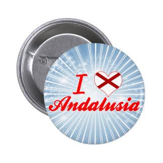 I Love Andalusia, Alabama Button