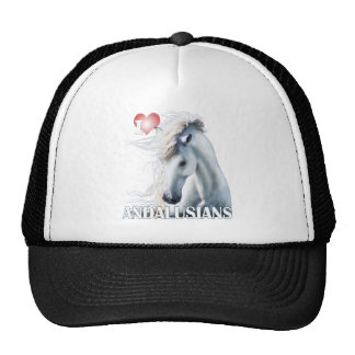 I Love Andalusians Mesh Hats