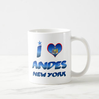I love Andes, New York Coffee Mugs
