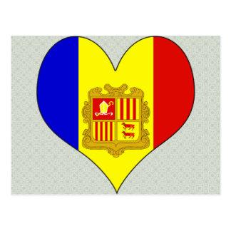 I Love Andorra Postcard