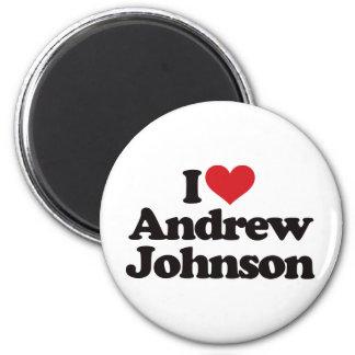 I Love Andrew Johnson Magnet