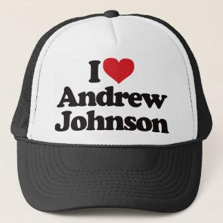 I Love Andrew Johnson Trucker Hat