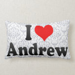 I love Andrew Throw Pillows