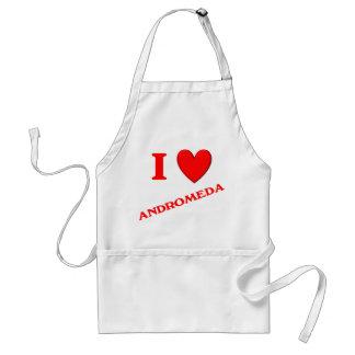 I Love Andromeda Aprons