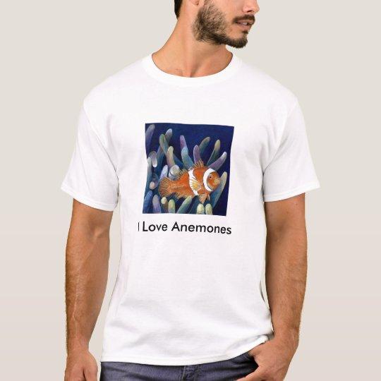 I Love Anemones T-Shirt