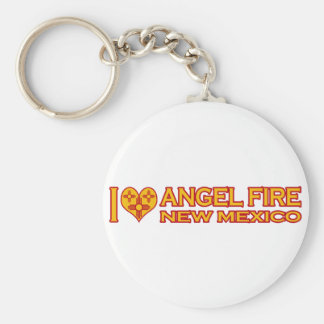 I Love Angel Fire, NM Keychain