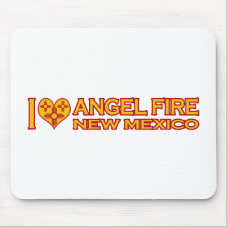 I Love Angel Fire, NM Mouse Pad