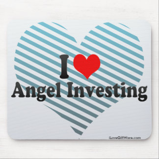 I Love Angel Investing Mousepads