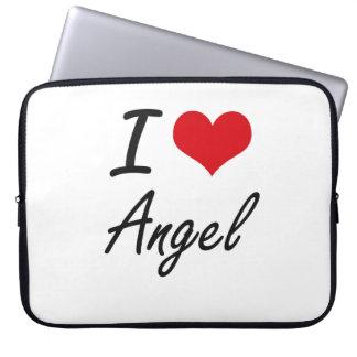 I Love Angel Laptop Computer Sleeve