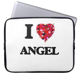I Love Angel Laptop Sleeves