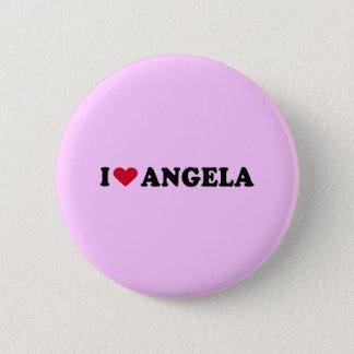 I LOVE ANGELA BUTTON