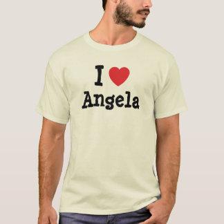 I love Angela heart T-Shirt