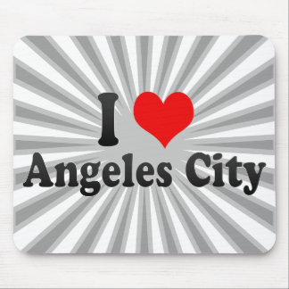 I Love Angeles City, Philippines Mouse Pad