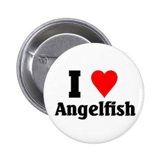 I love Angelfish Pin