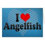 I Love Angelfish Cards