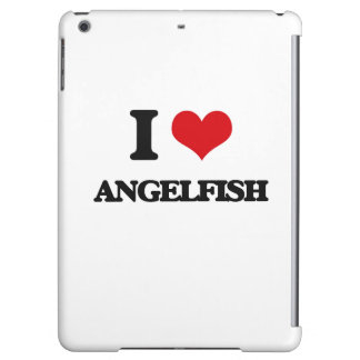 I love Angelfish Cover For iPad Air