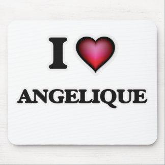 I Love Angelique Mouse Pad