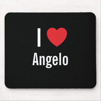 I love Angelo Mouse Pad
