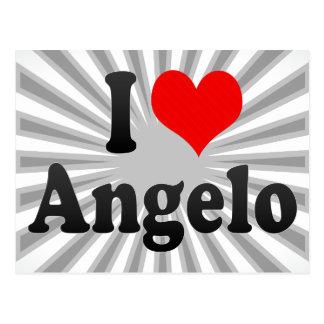 I love Angelo Postcard