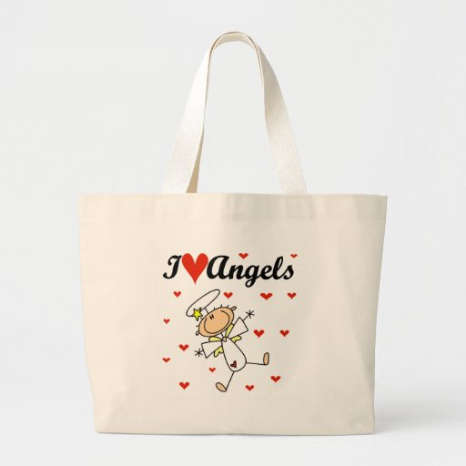 I Love Angels T-shirts and Gifts Bag