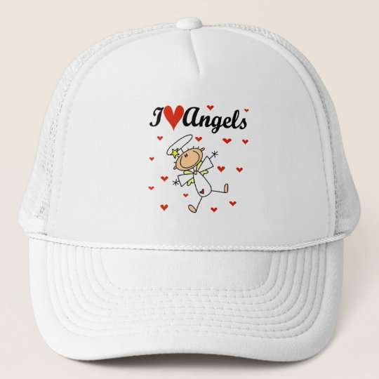 I Love Angels T-shirts and Gifts Trucker Hat