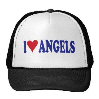 I Love Angels Trucker Hats