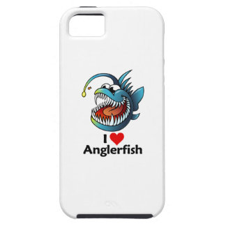 I Love Anglerfish iPhone SE/5/5s Case