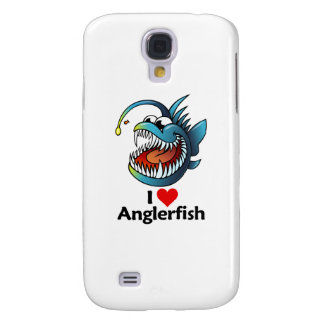 I Love Anglerfish Samsung Galaxy S4 Cover