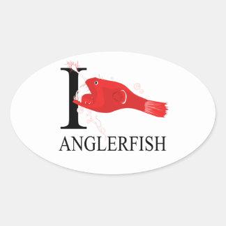 I Love Anglerfish Sticker