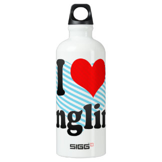 I love Angling Water Bottle