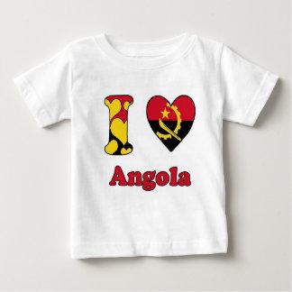 I love angola infant t-shirt