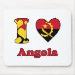 I love Angola Muis Mat