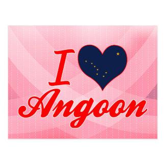 I Love Angoon, Alaska Post Card