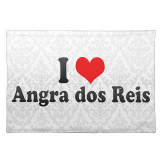 I Love Angra dos Reis, Brazil Placemat