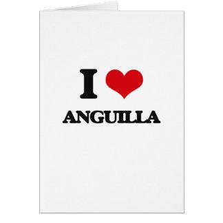 I Love Anguilla Cards