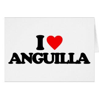 I LOVE ANGUILLA GREETING CARDS
