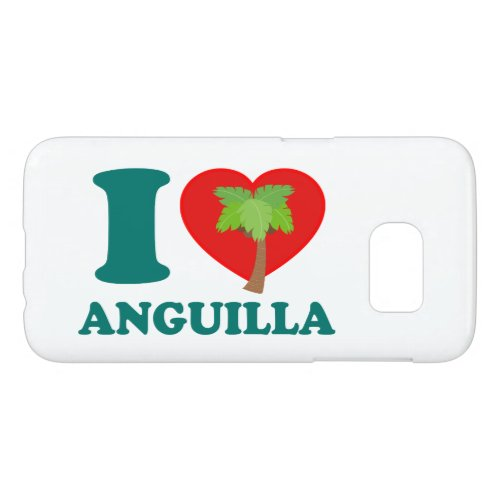I Love Anguilla Phone Case